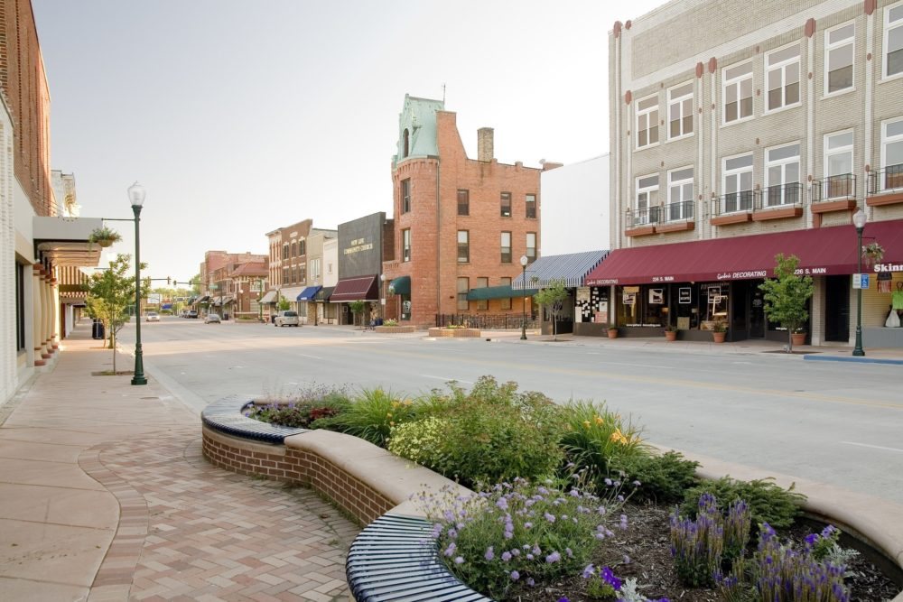 Downtown Elkhart Streetscape - Elkhart, IN