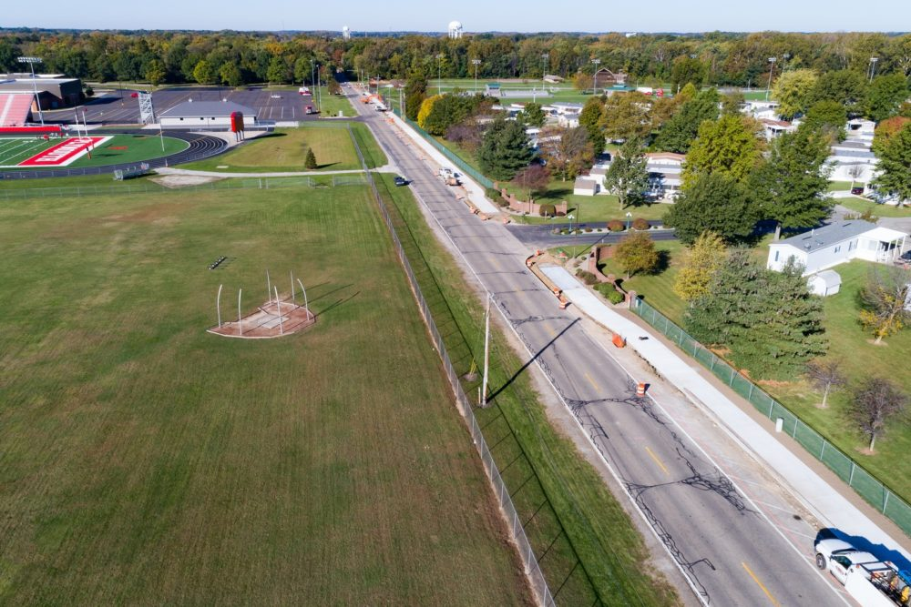 Safe Routes to School Construction Inspection - Plymouth, IN
