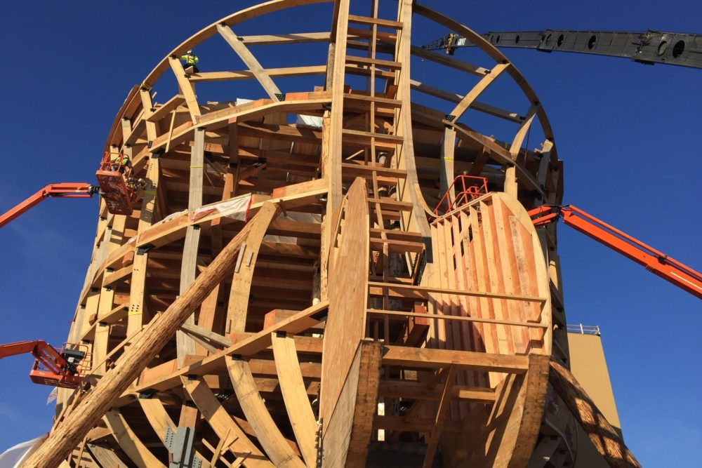 Ark Encounter's Stern Structure - Williamstown, KY