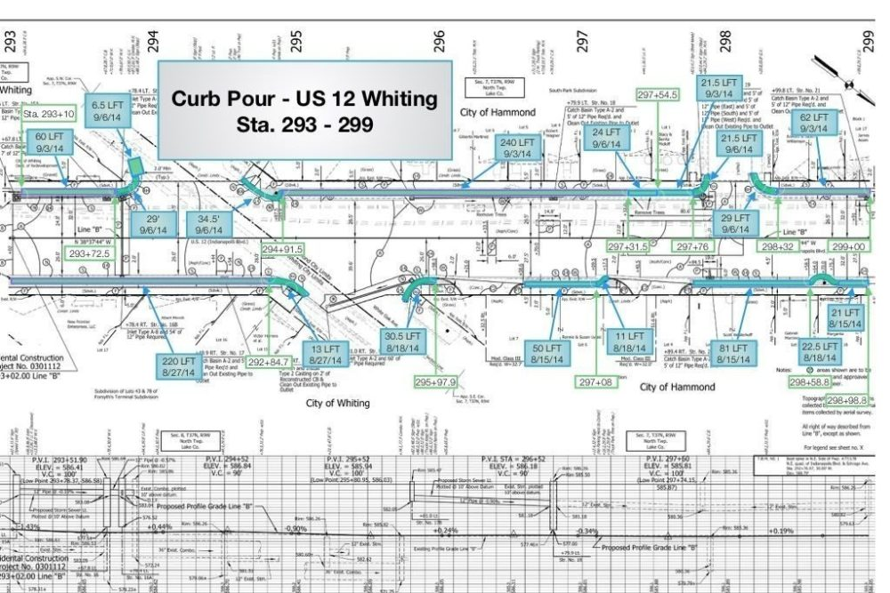 Infrastructure Plans Along US-12 - Whiting, IN