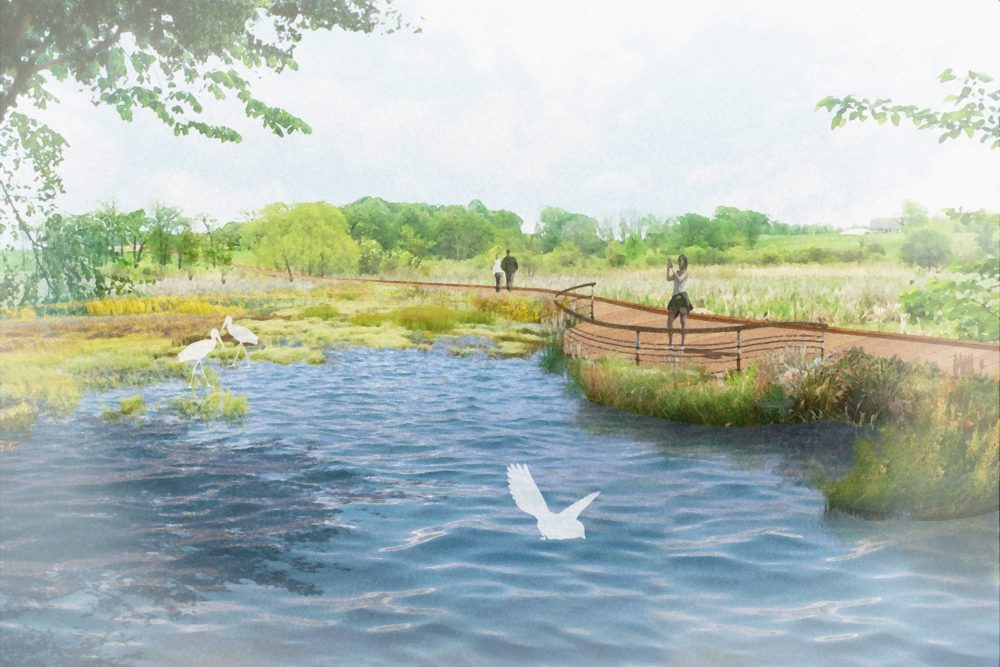 Culver Trail Wetland Boardwalk Concept - Culver, IN