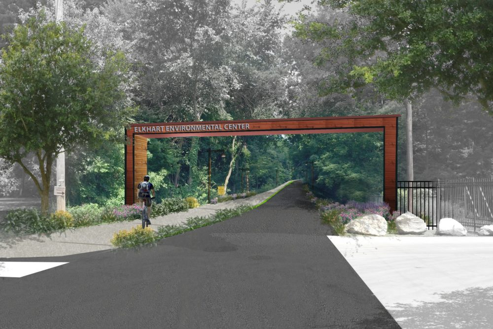 Elkhart Environmental Center Entrance Concept - Elkhart, IN