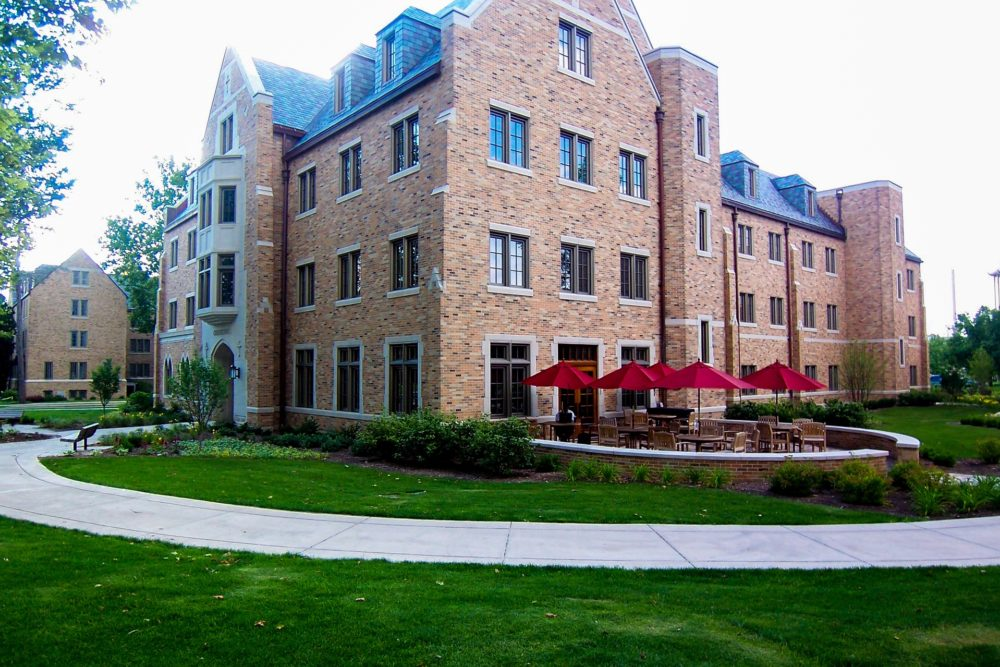 Geddes Hall Landscape Design - Notre Dame, IN