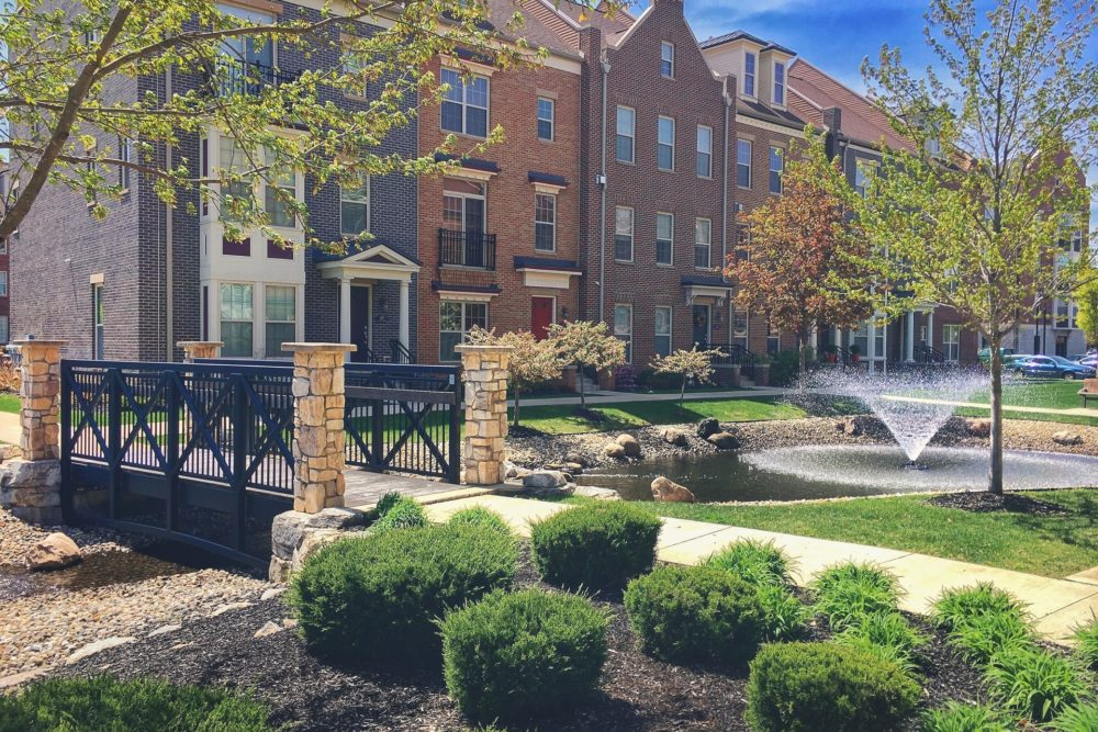 Eddy Street Commons Landscape Design - South Bend, IN