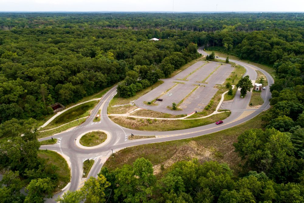 Entrance, Parking Lot and Roundabout Designs at Indiana Dunes State Park - Chesterton, IN