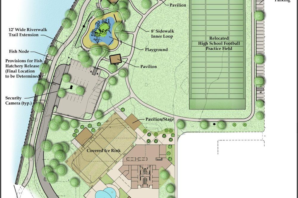 Merrifield Park Master Plan - Mishawaka, IN