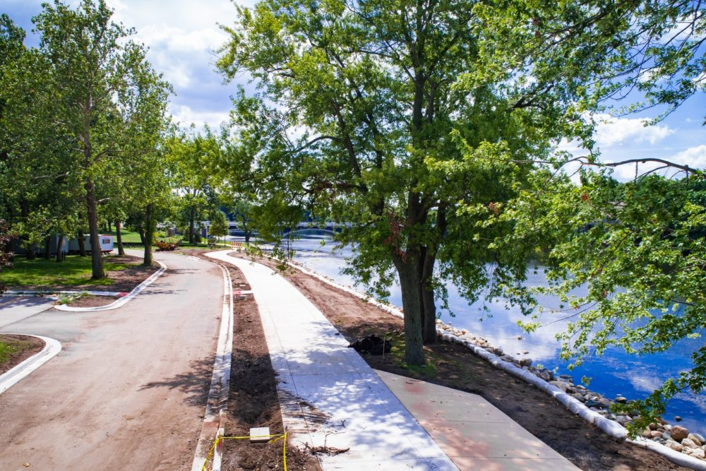 Trail Design and Construction Inspection at Merrifield Park - Mishawaka, IN