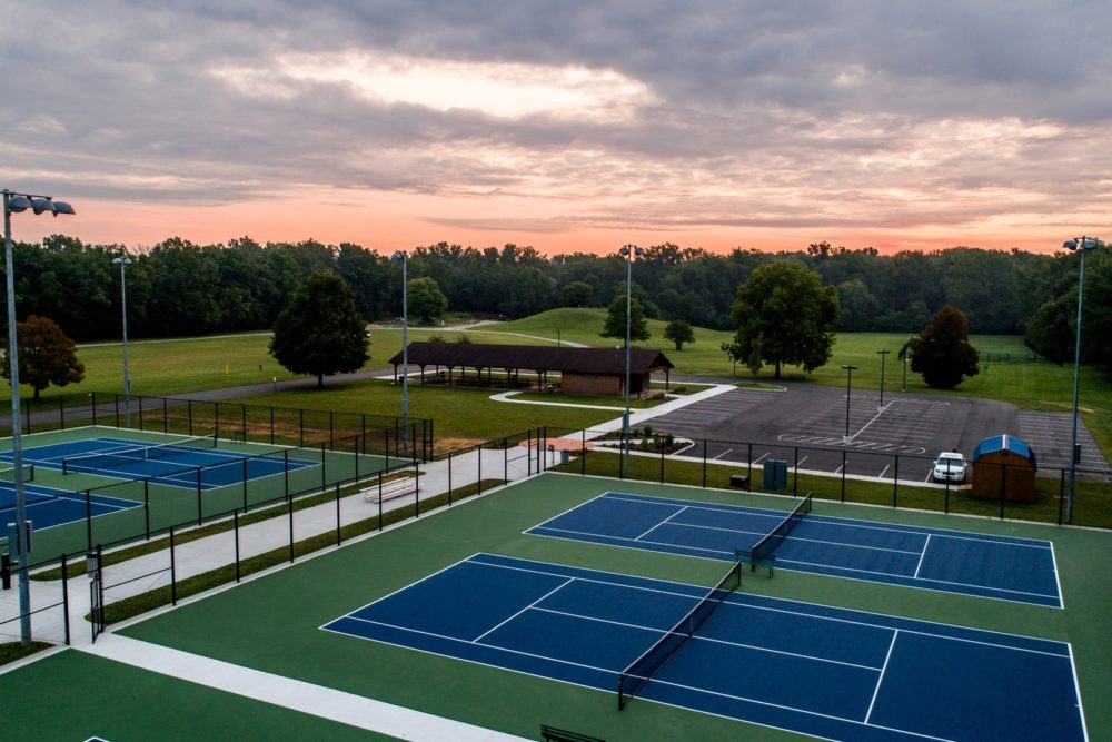 Mary Beth Hunter Tennis Complex at Centennial Park - Plymouth, IN