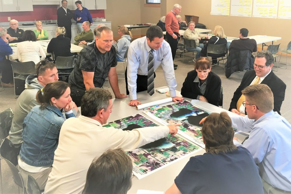 Public Planning Meeting for the Town of Culver's Bike/Ped Master Plan