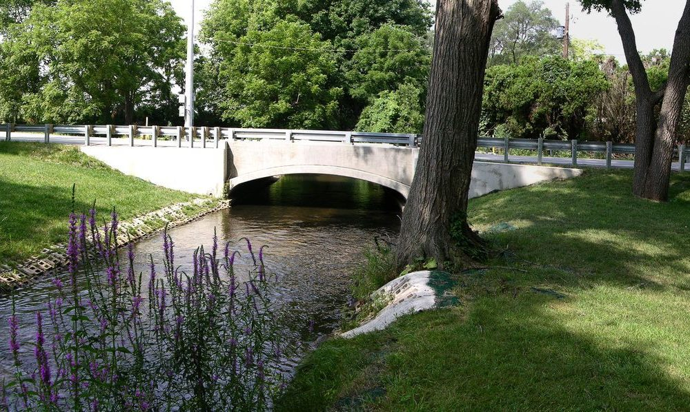 Kenilworth Road over Juday Creek - South Bend, IN